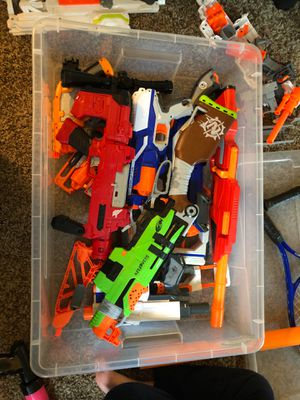 Nerf guns bin not included for Sale in Castro Valley, CA