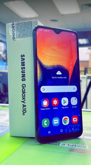 Metro Pcs Samsung Galaxy A10E, 32gb, Brand New in Box, One year Warranty! for Sale in Fort Worth, TX