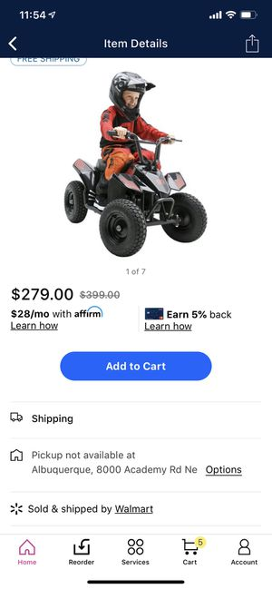 Kids atv (needs battery) for Sale in Fort Worth, TX