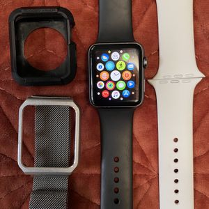 Apple Watch 42mm Series 1 With Accessories and Charger for Sale in Hollywood, FL