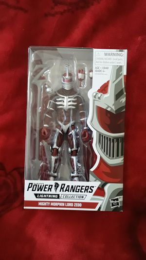POWER RANGERS LIGHTNING COLLECTION LORD ZEDD ACTION FIGURE for Sale in Hawthorne, CA