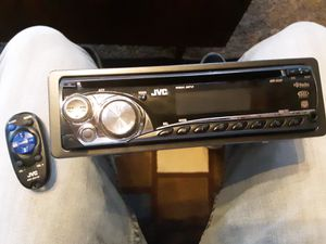 Jvc radio with remote for Sale in Lakeview, OH