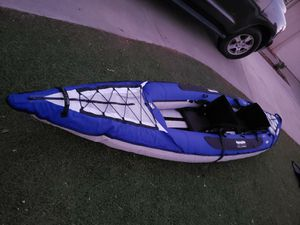 Aquaglide inflatable kayak for Sale in Apple Valley, CA