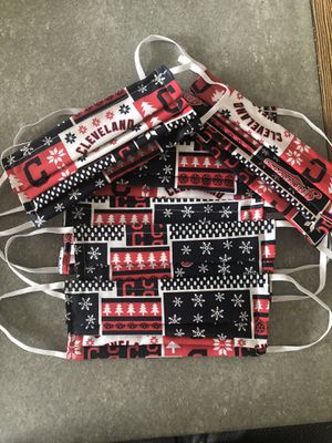 Face mask, 100% cotton, washable with filter pocket for Sale in Cleveland, OH