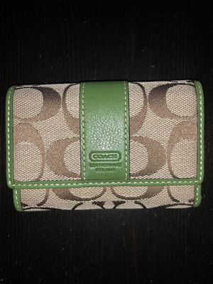 Authentic small Coach wallet for Sale in Washington, DC