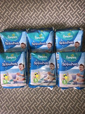 Pampers swim diapers for Sale in Lincoln Park, MI