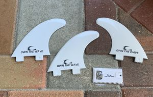 3 Own The Wave, Surfboard Fins, new for Sale in Palm City, FL