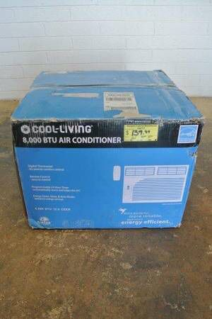 Cool Living 8,000 BTU Window Air Conditioner / AC Unit in White for Sale in Scottsdale, AZ