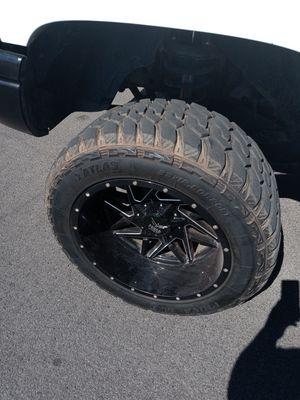 Force 20x12s new tread for Sale in Modesto, CA