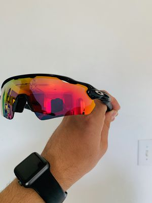 NEW Polarized Oakley Radars Sport Glasses Baseball/ Softball/ Golf/ Cycling / Outdoors for Sale in La Puente, CA