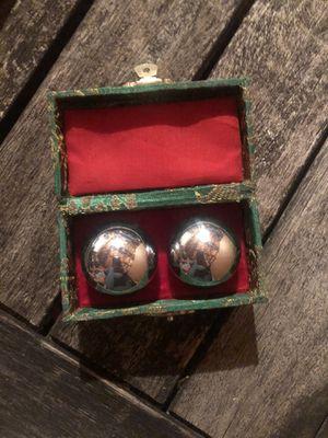 Vintage Chinese Baoding Massage Stress Balls for Sale in Charlottesville, VA
