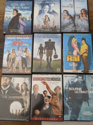 Lot of nine dvds for Sale in Lake Worth, FL