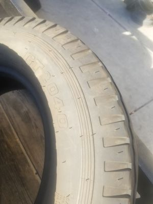 set of 4 a year old st 205 75 14 trailer tires in great shape for Sale in Fontana, CA