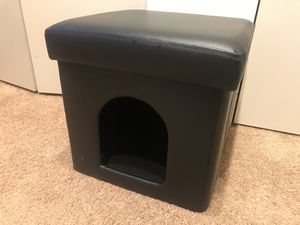 Foldable pet house / ottoman (for a small dog or cat) for Sale in Seattle, WA