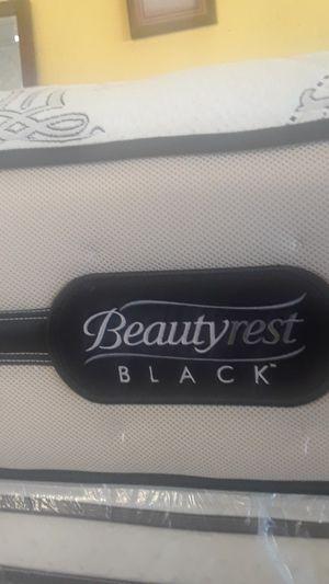 QUEEN MUESTRA SUAVE BLACK BEAUTYREST BY SIMMONS for Sale in San Bernardino, CA