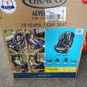 New Graco 4 Ever DLX 4 -in 1 Convertible Car Seat Infant To Toddler for Sale in Philadelphia, PA