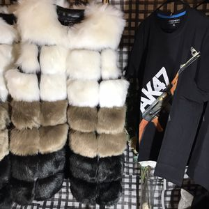 Fur Vest And T-shirts for Sale in Philadelphia, PA