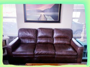 Leather Sofa & Chair Set for Sale in Mesa, AZ
