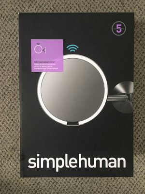 SimpleHuman Wall Mount Sensor Mirror for Sale in Orange, CA