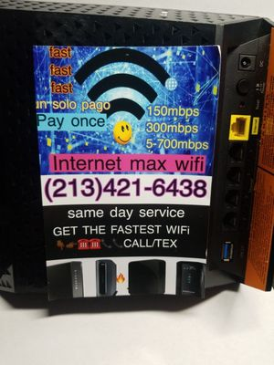 3k4krkrkd9 5050 model lenovo router audio nice MacBook computer Internet WiFi modem new condition for 6040 good printer really good condition for Sale in South Gate, CA