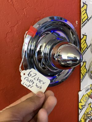 A pair of 1967 Chevy hubcaps for Sale in Modesto, CA