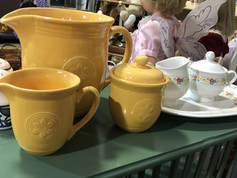 Pitcher, Saucer & Sugar Bowl for Sale in Gastonia,  NC