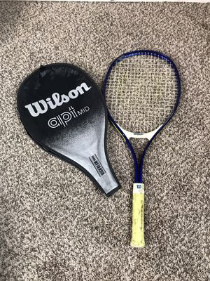 "Wilson JR Widebody 25 Metal Tennis Racquet Racket 4"" Blue Yellow for Sale in French Creek, WV"