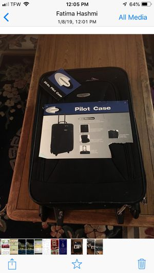 "Two same Hand carry suit case 20"" 14"" 7"" for Sale in Alexandria, VA"