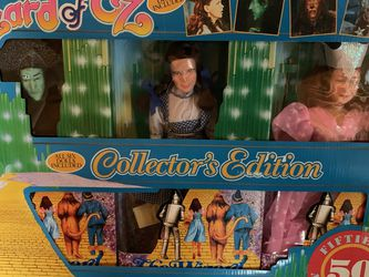 1988 THE WIZARD OF OZ 50TH ANNIVERSARY 6 PIECE DOLL SET COLLECTORS EDITION .Box Worn / Otherwise Dolls Unused - Never Taken Out for Sale in Santee,  CA