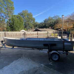 16' Boat And Trailer Rich Line V Hull for Sale in West Columbia, SC