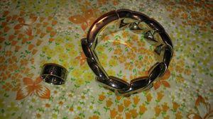 Harley-Davidson ring and biker bracelet for Sale in New Bedford, MA