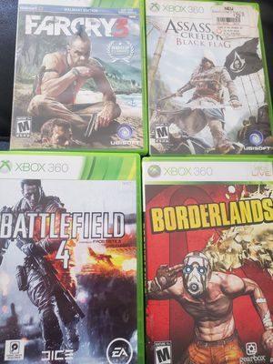 Video games Xbox360 for Sale in Germantown, MD
