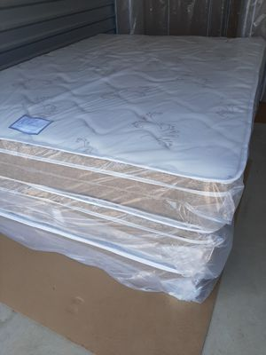 Pillowtop Queen mattress set (new) for Sale in Biloxi, MS