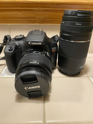 Canon EOS T7 24 mp DSLR camera for Sale in East Windsor, CT