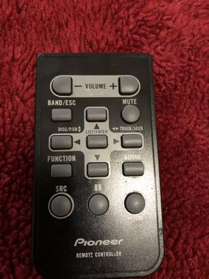 Pioneer stereo Remote for Sale in Fresno, CA