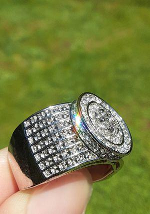 Brilliant Cut 925 Silver CZ Ring Size 9 for Sale in Union, WA