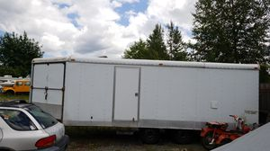 28 ft snow mobile enclosed trailer for Sale in Mill Creek, WA