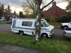 GMC camper van 1980 brand new Chevy crate engine for Sale in Portland, OR