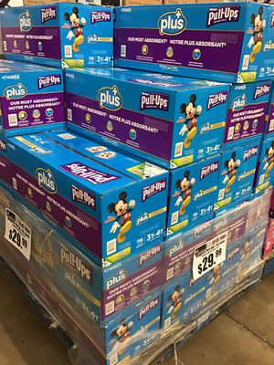 Huggies Pull-Ups Plus 3T-4T 116count $29.99 for Sale in Ontario, CA