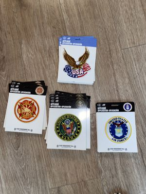 Iron On Patches (service patches) for Sale in Rockville, MD