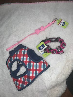 Dog collar and harness for Sale in Los Angeles, CA