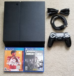500gb PS4 with 2 games for Sale in Tracy, CA
