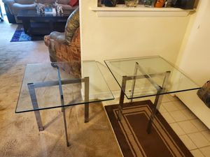 2 side tables for Sale in Raleigh, NC