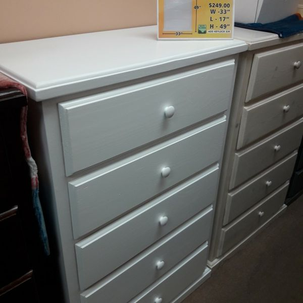 New Solid Pinewood Dresser Very Spacious