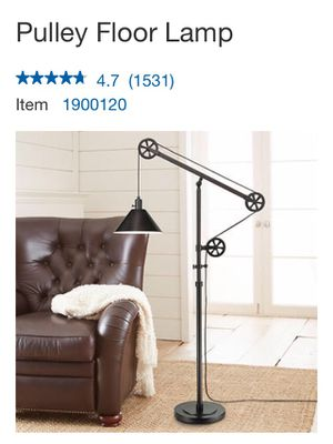 Pulley Floor Lamp for Sale in Spring, TX