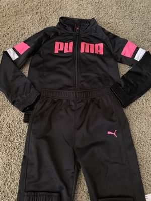 Puma kids track suit set size youth 6 for Sale in Woodland, CA