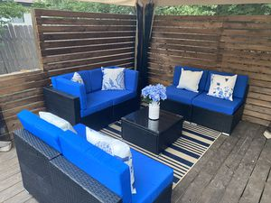 New in box outdoor sectional with cushions for Sale in Pflugerville, TX