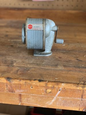 Giant Pencil Sharpener Type III-A for Sale in Auburn, CA