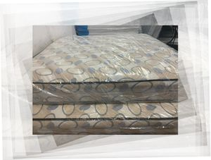 2pc queen mattress and box spring for Sale in NEW CARROLLTN, MD
