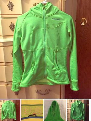 Avalanche women bright green hoodie-size Medium for Sale in Chicago, IL